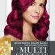 Șampon nuanțator fără amoniac Multi Effect 04 roșu zmeuriu