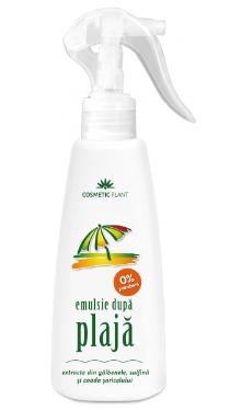 Emulsie după plajă cu extract de gălbenele, sulfină și coada șoricelului - Cosmetic Plant