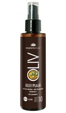 Ulei pentru plajă OLIV cu ulei de morcov - SPF10 - Cosmetic Plant
