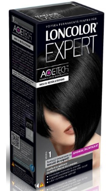 Vopsea de păr Expert 1 Negru - Loncolor