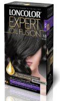 Vopsea de păr Expert Oil Fusion 1.0 Negru - Loncolor