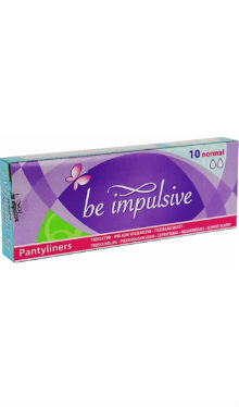 Absorbante zilnice - Be Impulsive