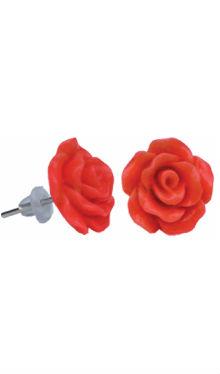 Cercei copii Trandafir Roșu