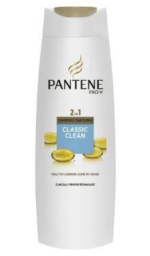 Şampon de păr 2 in 1 Classic Clean - Pantene Pro-V