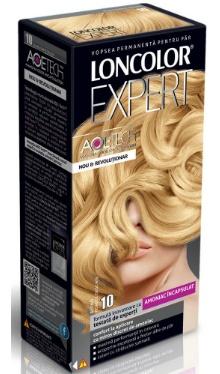 Vopsea de păr Expert 10 Blond Foarte Deschis - Loncolor