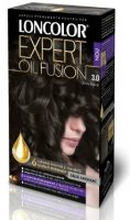 Vopsea de păr Expert Oil Fusion 3.0 Șaten Închis - Loncolor
