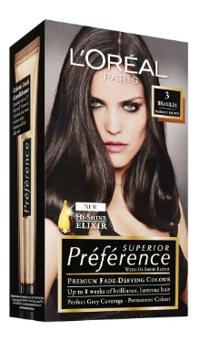 Vopsea de păr Preference Şaten Închis 3 - L'Oreal