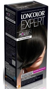 Vopsea de păr Expert 3 Șaten Închis - Loncolor