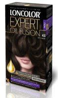 Vopsea de păr Expert Oil Fusion 4.0 Șaten Mediu - Loncolor