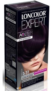 Vopsea de păr Expert 5.22 Șaten Violet - Loncolor