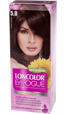 Vopsea de păr EnVogue 5.0 Moka Frappe - Loncolor