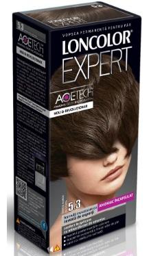 Vopsea de păr Expert 5.3 Șaten Auriu Deschis - Loncolor