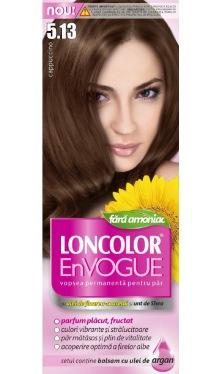 Vopsea de păr EnVogue 5.13 Capuccino - Loncolor