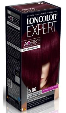 Vopsea de păr Expert 5.66 Roșu Violet - Loncolor