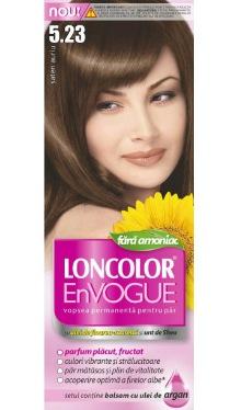 Vopsea de păr EnVogue 5.23 Șaten Auriu - Loncolor