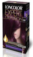 Vopsea de păr Expert Oil Fusion 5.62 Șaten Violet Deschis - Loncolor
