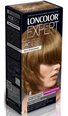 Vopsea de păr Expert 8 Blond Mediu - Loncolor