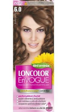 Vopsea de păr EnVogue 6.0 Blond Închis - Loncolor