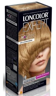 Vopsea de păr Expert 9 Blond Deschis - Loncolor