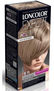 Vopsea de păr Expert 9.11 Blond Cenușiu - Loncolor
