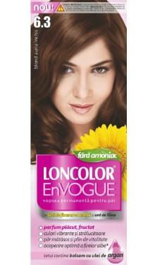 Vopsea de păr EnVogue 6.3 Blond Auriu Închis - Loncolor