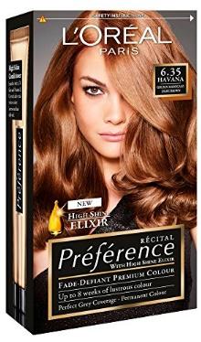 Vopsea de păr Preference Havana Light Amber 6.35 - L'Oreal