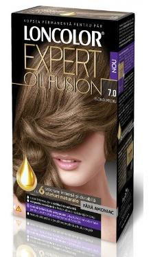 Vopsea de păr Expert Oil Fusion 7.0 Blond Mediu - Loncolor