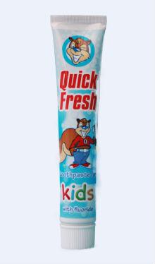 Pastă de dinți pentru copii cu aromă de Căpșuni și Caramel