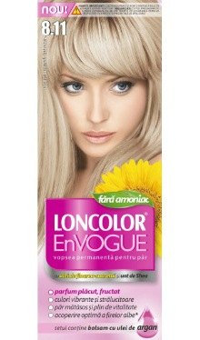 Vopsea de păr EnVogue 8.11 Blond Glace Intens - Loncolor
