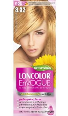 Vopsea de păr EnVogue 8.32 Blond Auriu Deschis - Loncolor