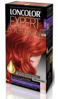 Vopsea de păr Expert Oil Fusion 8.66 Roșu Intens Deschis - Loncolor