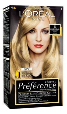 Vopsea de păr Preference Blond Deschis 8 - L'Oreal