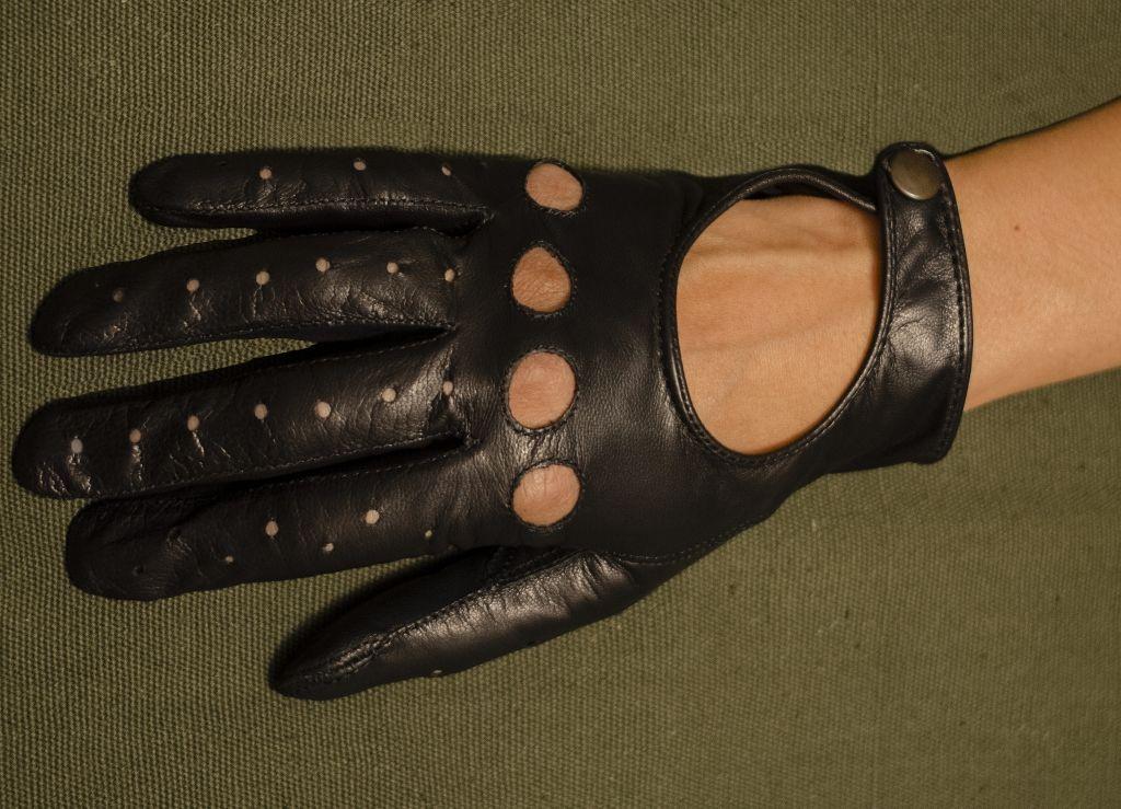 Mănuși din piele dame auto AFAuto001