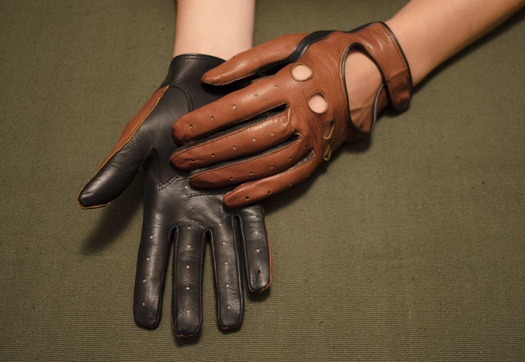 Mănuși din piele dame auto AFAuto101