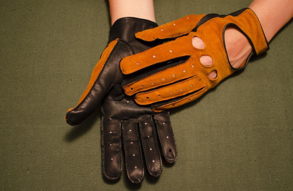 Mănuși din piele dame auto AFAuto301