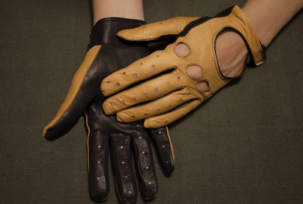Mănuși din piele dame auto AFAuto401