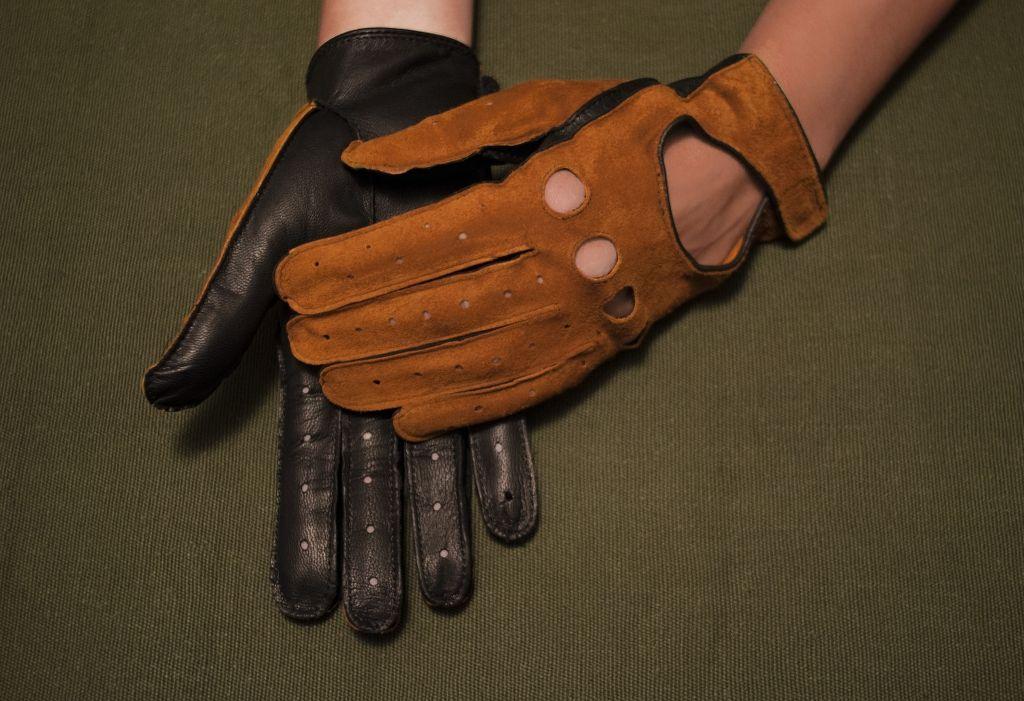 Mănuși din piele dame auto AFAuto4101