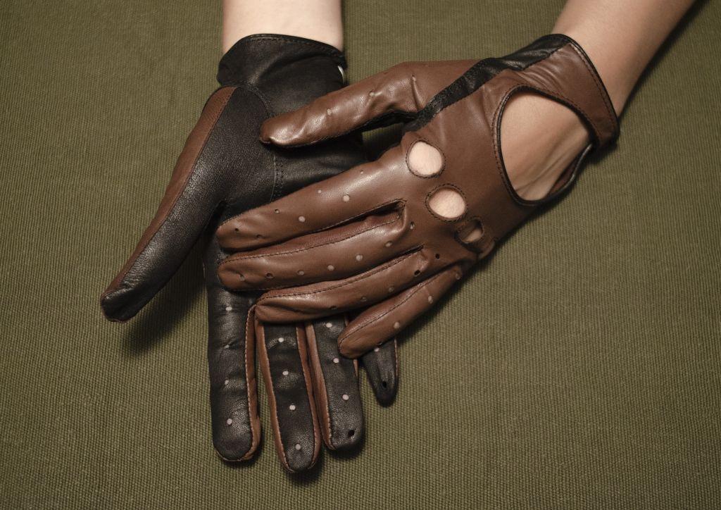 Mănuși din piele dame auto AFAuto501