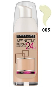 Fond de ten Affinitone 24H 005 Beige - Maybelline