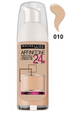 Fond de ten Affinitone 24H 010 Ivory - Maybelline