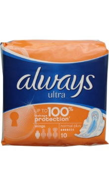 Absorbant ultra, normal plus - Always