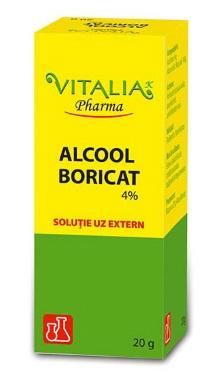 Alcool boricat 4% - Vitalia