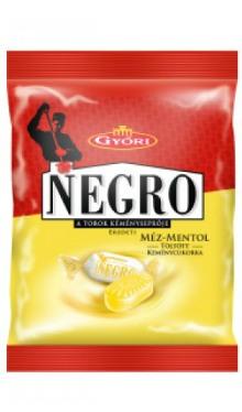Bomboane Negro miere și mentol