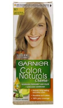 Vopsea de păr 8.1 Blond Cenușiu Deschis - Garnier