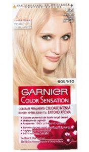 Vopsea de păr Color Sensation 10.21 Blond Perlat Delicat - Garnier