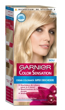 Vopsea De Păr Color Sensation 110 Blond Ultradiamant Garnier