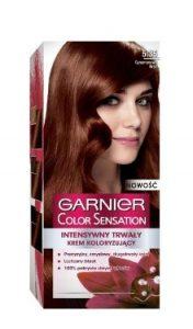 Vopsea de păr Color Sensation 5.35 Şaten Scorţişoară - Garnier