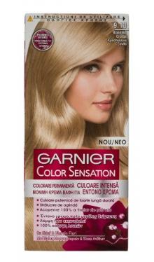 Vopsea de păr Color Sensation 9.13 Blond Bej Cristal - Garnier