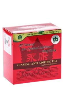 Ceai antiadipos cu ginseng yong kang