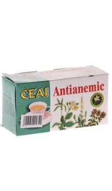 Ceai antianemic doze - Hypericum Impex